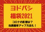 ヨドバシ福袋2021コロナの影響あり?予約開始日や当選確率アップ方法も
